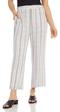 Karen Kane Cropped Striped Pants