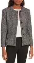Helene Berman Tweed Peplum Jacket