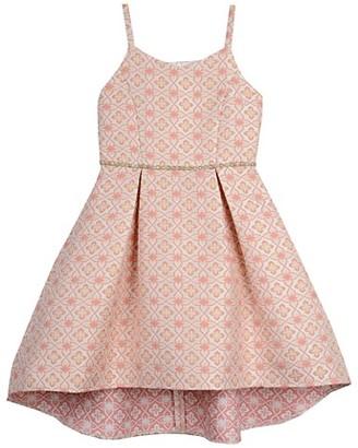 Belle By Badgley Mischka Girl's Jacquard Brocade Dress