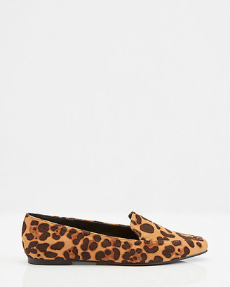 Le Château Faux Suede Pointy Toe Loafer