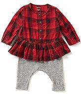 Ralph Lauren Baby Girls 3-24 Months Peplum Top & Pull-On Pant Set