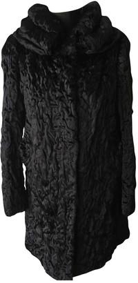 Blumarine Black Faux fur Coat for Women
