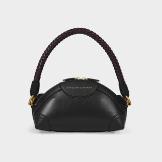 Stella McCartney Handbag Mini Crossbody Textured Eco Al In Black Synthetic Leather