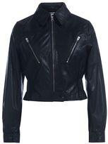 McQ by Alexander McQueen Giacca In Pelle Nera