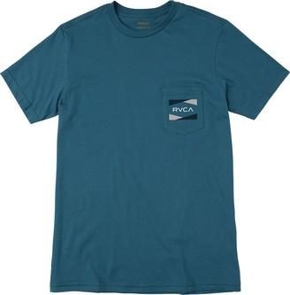 RVCA Young Mens Nation 2 Pocket Tee Shirt