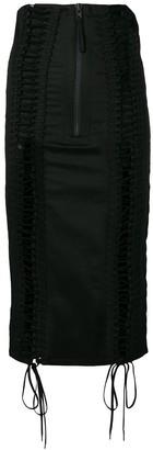 Kokon To Zai Lace Up Skirt