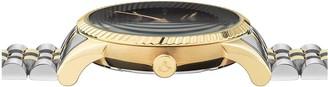 Vivienne Westwood Seymour Bi Colour Black Dial Bracelet Watch