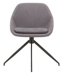 Nixon Task Chair EQ3 Upholstery Color: Dark Gray