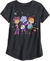 Disneyjumping Beans Disney Junior's Vampirina, Bridget & Poppy Girls 4-10 Girl Band Graphic Tee by Jumping Beans