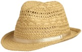 Crazy 8 Straw Fedora