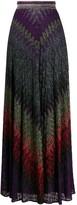 Missoni embroidered maxi skirt
