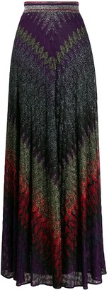 Missoni Embroidered Maxi Skirt