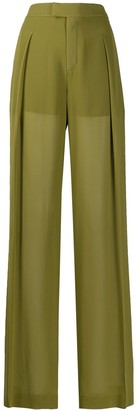 Chloé Tailored High-Waisted Trousers