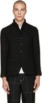 Blue Blue Japan Black Roving Tweed Jacket