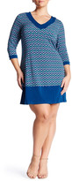 Leota Matte Jersey Sheath Dress (Plus Size)