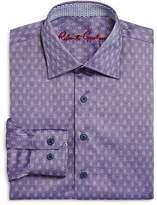 Robert Graham Boys' Gene Motif Dress Shirt - Big Kid