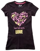 "Barbie Girls ""Live Life With Love"" Graphic tee"
