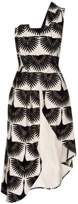 Lahive Billy Jean Long Swan Designer Dress Shirt