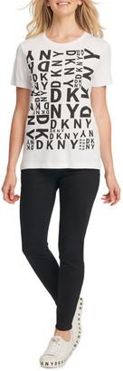 DKNY Mixed Logo T-Shirt