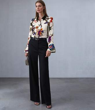 Reiss LUPA BOLD FLORAL PRINTED BLOUSE Multi