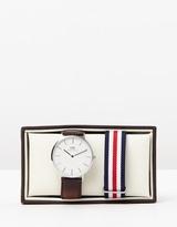 Daniel Wellington Iconic Exclusive - Bristol Canterbury 40mm Gift Set