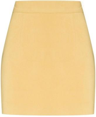 ALEKSANDRE AKHALKATSISHVILI High-Waisted Mini Skirt