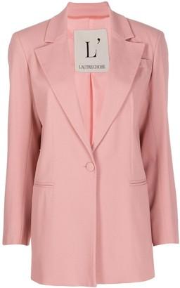 L'Autre Chose Single Buttoned Blazer