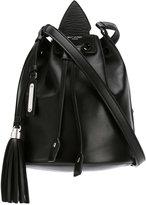 Saint Laurent small Anja tassel bucket bag