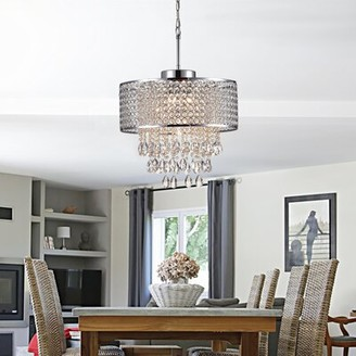 Drum Shade Chandelier Shop The World S Largest Collection Of Fashion Shopstyle