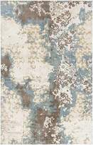 Chandra Vingel - 36802 - Rectangular Hand-Knotted Traditional Area Rug