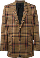 Ami Alexandre Mattiussi two button long jacket - men - Polyamide/Viscose/Wool/Other fibres - 44