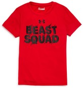 Under Armour Boys' Beast Squad Tech Tee - Little Kid, Big Kid