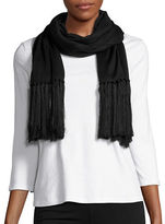 Lauren Ralph Lauren Long Fringed Scarf