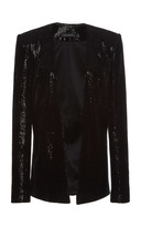 Sally LaPointe Sequin Tailored Blazer