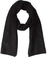 Calvin Klein Studded Scarf (Black) Scarves