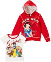 Children's Apparel Network Red Disney Princess Snow White Hoodie & Tee - Infant