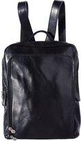 Florence Leather Market Backpack flat purse, unisex 6538