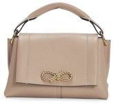 Anya Hindmarch Mini Rope Bow Leather Shoulder Bag