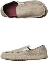 Sanuk Mens Rounder No Ledge Profile EVA Footbed Slip On Shoes Tan