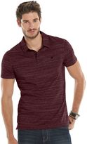 Rock & Republic Big & Tall Core Slubbed Polo