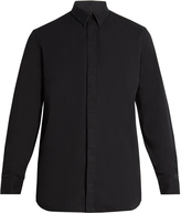 Givenchy Columbian-fit wing-print cotton shirt