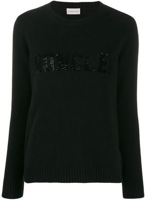 Moncler sequin embellished jumper