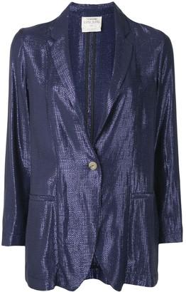Forte Forte My Jacket geometric-jacquard blazer