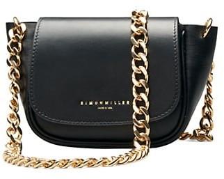 Simon Miller Mini Bend Leather Saddle Bag