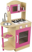 Kid Kraft Pink Wooden Kitchen