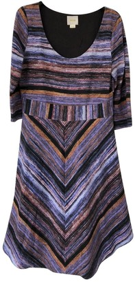 Anthropologie Purple Cotton Dress for Women
