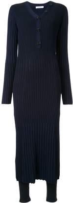 Loveless slim-fit ribbed dress