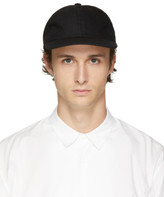 Undecorated Man Black Wool and Cashmere Jet Cap