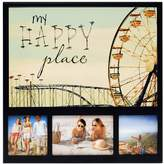 """New View My Happy Place"""" Ferris Wheel 3-opening Collage Frame"""