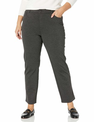 Gloria Vanderbilt Women's Misses Amanda Ponte High Rise Knit Pant